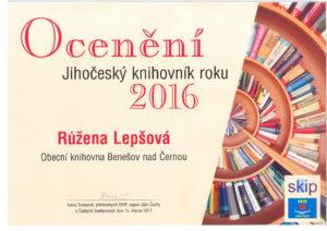 Knihovník roku 2016